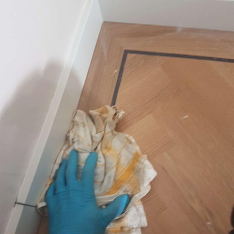 Bewerken tapis vloer